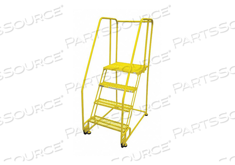 TILT AND ROLL LDR STEEL 70IN. H. YELLOW by Cotterman