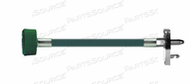 CONDUCTIVE HOSE ASSEMBLY, 1/4 IN OD, OXYGEN, GREEN, DISS HAND TIGHT X MALE CONNECTION, 10 FT by Amvex (Ohio Medical, LLC)