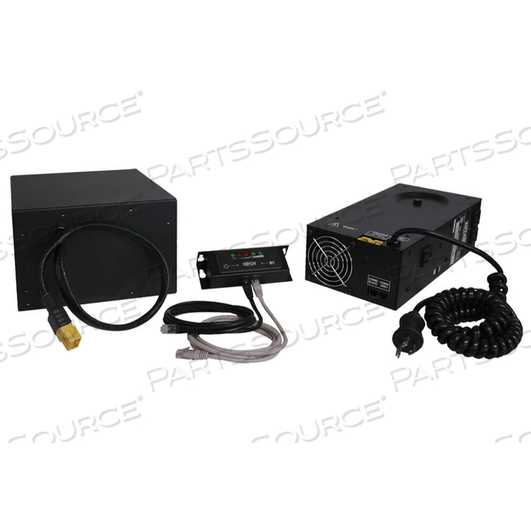 120V 300W HOSPITAL GRADE MOBILE POWER RETROFIT KIT WITH 90A HOUR BATTERY AND 3 OUTLETS by Tripp Lite