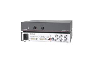 DVI TO ANALOG RGB VIDEO INTERFACE, 6 FEMALE BNC, 100 TO 240 VAC, 12 W, 50 TO 60 HZ, -40 TO 70 DEG C, MEETS CE, UL by Extron Electronics