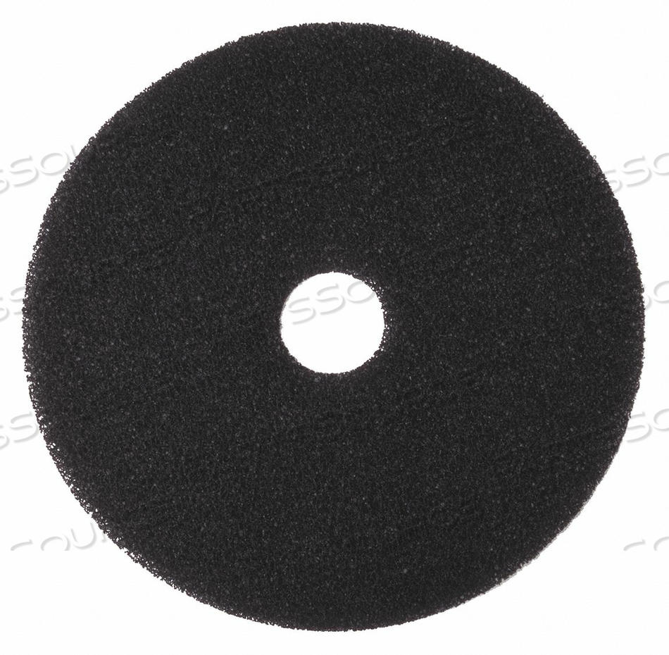 STRIPPING PAD BLACK SIZE 18 ROUND PK5 by Tough Guy