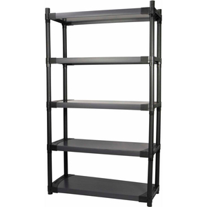 """PLASTIC SOLID SHELVING 48""""W X 16""""D X 70""""H CAPACITY 150 LBS by Grosfillex"""