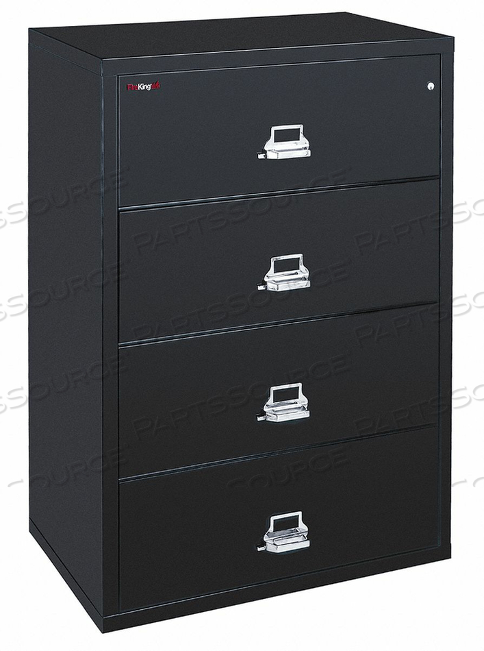 LATERAL FILE 4 DRAWER 37-1/2 IN W by Fire King