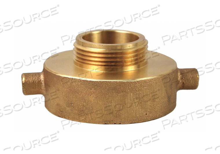 FIRE HOSE ADAPTER 1-1/2 NH 2-1/2 NH by Elkhart Brass