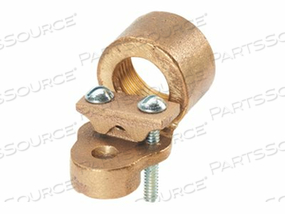 PANDUIT STRUCTURED GROUND MECHANICAL CONNECTORS BRONZE GROUND HUBS - GROUNDING CLAMP KIT - 2.1 IN by Panduit
