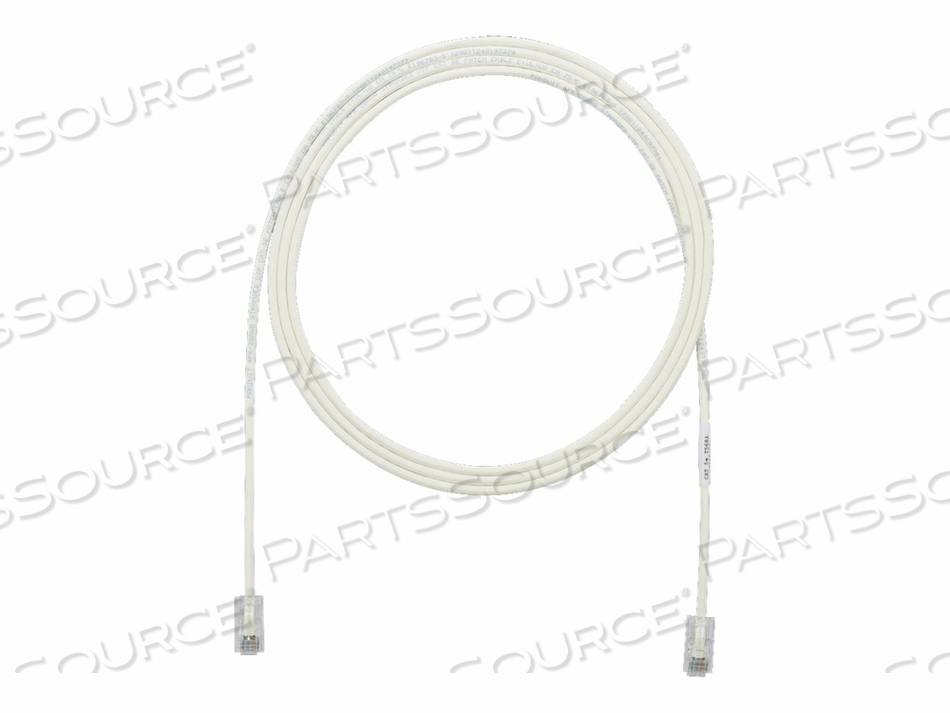 PANDUIT TX5E-28 CATEGORY 5E PERFORMANCE - PATCH CABLE - RJ-45 (M) TO RJ-45 (M) - 18 FT - UTP - CAT 5E - IEEE 802.3AF/IEEE 802.3AT - HALOGEN-FREE, SNAGLESS, STRANDED - OFF WHITE by Panduit