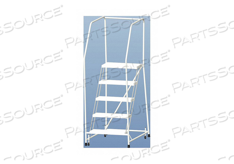 ROLLING LADDER ALUMINUM 47-1/2 IN.H by Ballymore