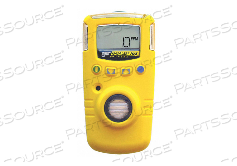 SINGLE GAS DETECTOR O2 0-30 PCT NA YLW by BW Technologies