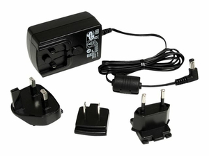 12VDC 18W UNIVERSAL POWER ADAPTER - BLACK by StarTech.com Ltd.
