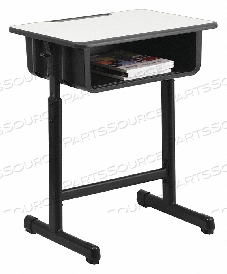 OPEN FRONT STUDENT DESK GRAY by Flash Furniture