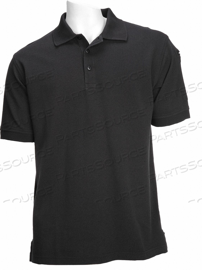 D4693 PROFESSIONAL POLO BLACK 2XL by 5.11 Tactical