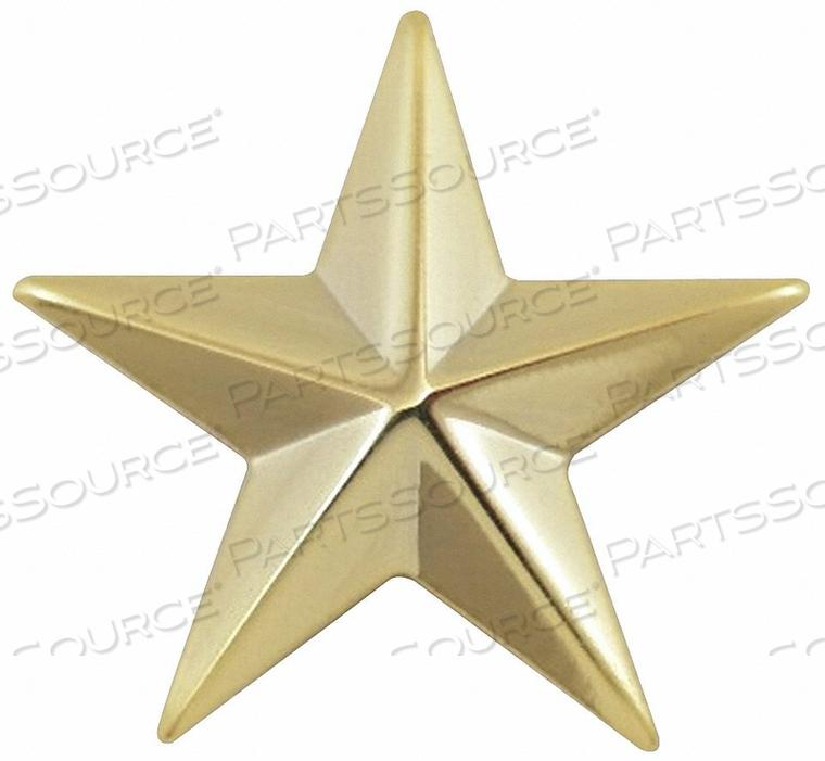 METAL RANK INSIGNIA ONE 5/8 STAR GOLD PR by Heros Pride
