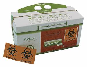 BIO-BIN WASTE CONTAINER 2.5L PK50 by Dynalon