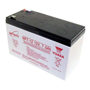 BATTERY, SEALED LEAD ACID, 12V, 7 AH, FASTON (F1) by ENERSYS