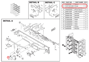 MOTOR PUMP by FUJIFILM Medical Systems USA