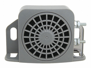 BACK UP ALARM 97DB GRAY 5 IN L PLASTIC by Imperial Supplies