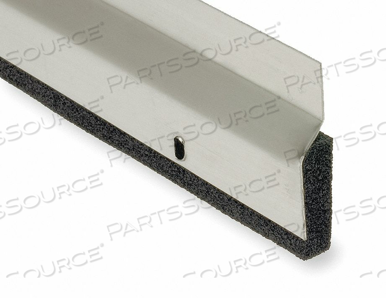 DOOR FRAME WEATHERSTRIP 8 FT BLACK by National Guard Products