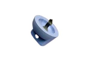 CAST MOLD KEY CAP, LIGHT BLUE by GE Healthcare
