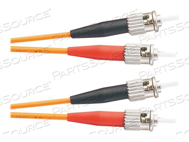PANDUIT NETKEY - PATCH CABLE - ST MULTI-MODE (M) TO ST MULTI-MODE (M) - 5 M - FIBER OPTIC - 62.5 / 125 MICRON - OM1 - RISER - ORANGE by Panduit