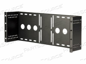 """STARTECH.COM UNIVERSAL VESA LCD MONITOR MOUNTING BRACKET FOR 19IN RACK OR CABINET - BRACKET FOR LCD DISPLAY - SOLID COLD PRESSED STEEL - BLACK - SCREEN SIZE: 19"""" - FOR P/N: 2POSTRACK42, 4POSTRACK25U, 4POSTRACK36, 4POSTRACK42, RK1236BKF, RK2536BKF, RK960CP by StarTech.com Ltd."""