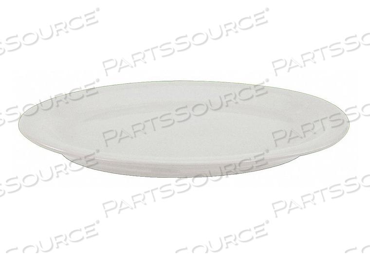 PLATTER 11-1/2X9-5/8 IN ALP WHT PK24 by Crestware
