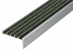STAIR NOSING BLACK 36IN W EXTRUDED ALUM by Wooster