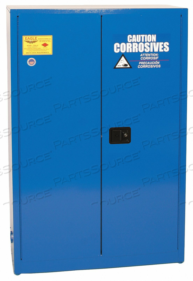 CORROSIVE SAFETY CABINET STANDARD by Eagle