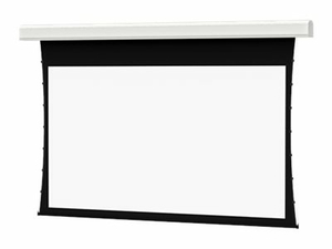 DA-LITE TENSIONED LARGE ADVANTAGE DELUXE ELECTROL WIDE FORMAT - PROJECTION SCREEN SURFACE WITH MOTOR AND ROLLER - IN-CEILING MOUNTABLE - MOTORIZED - 120 V - 226 IN (226 IN) - 16:10 - HD PROGRESSIVE 0.9 - WHITE POWDER COAT by DA-Lite