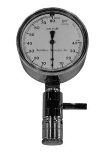 """1/4"""" H2O APL RELIEF VALVE MANOMETER by Anesthesia Associates"""