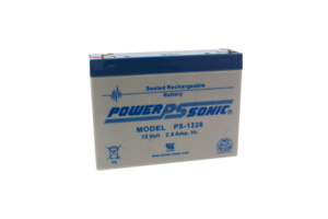 BATTERY, SEALED LEAD ACID, 12V, 2.8 AH, FASTON (F1) by Power Sonic