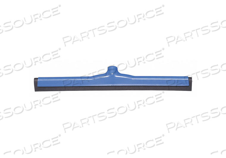 J4743 FLOOR SQUEEGEE DOUBLE BLUE 21-1/2 W by Tough Guy
