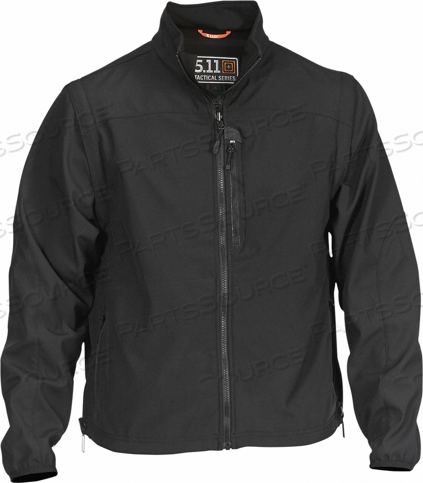 VALIANT SOFTSHELL JACKET L BLACK by 5.11 Tactical