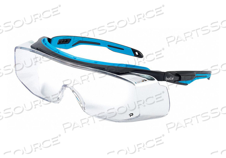 SAFETY GLASSES CLEAR LENS OTG by Bolle Safety