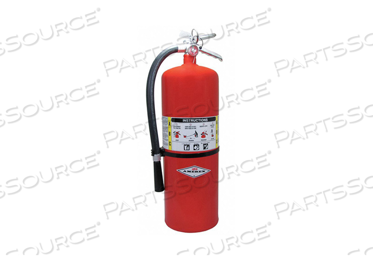 FIRE EXTINGSHR DRY CHEMICAL 10A 120B C by Amerex