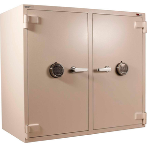 """PHARMACY SAFE 41""""W X 21-3/4""""D X 36-1/2""""H ELECTRONIC LOCK 7.92 CU. FT. WHITE by Fire King"""