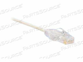 PANDUIT TX6-28 CATEGORY 6 PERFORMANCE - PATCH CABLE - RJ-45 (M) TO RJ-45 (M) - 7.9 IN - UTP - CAT 6 - IEEE 802.3AF/IEEE 802.3AT/IEEE 802.3BT - BOOTED, HALOGEN-FREE, SNAGLESS, STRANDED - OFF WHITE by Panduit