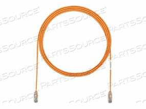 PANDUIT TX6 PLUS - PATCH CABLE - RJ-45 (M) TO RJ-45 (M) - 130 FT - UTP - CAT 6 - IEEE 802.3AT - STRANDED, SNAGLESS, HALOGEN-FREE, BOOTED - ORANGE by Panduit