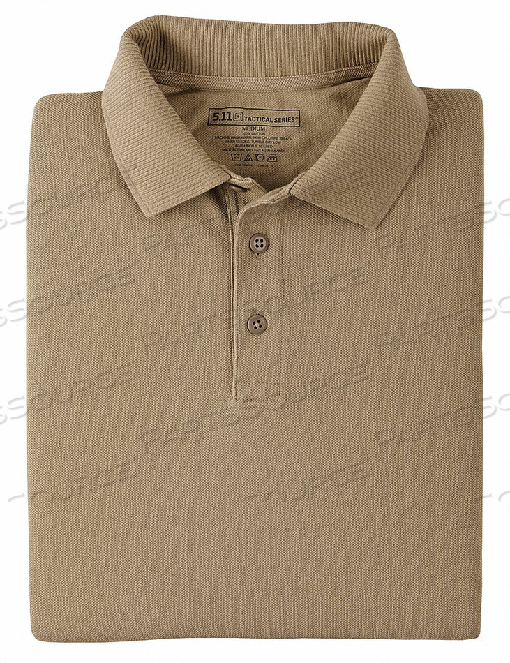 H5473 UTILITY POLO SIZE M SILVER TAN by 5.11 Tactical