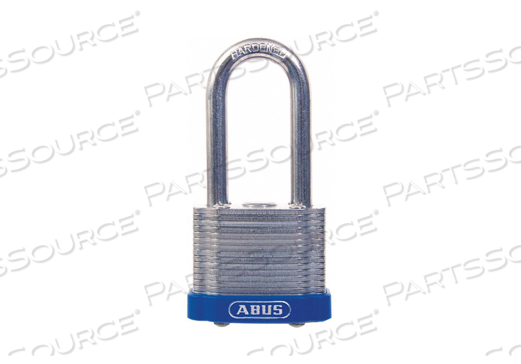 KEYED PADLOCK 29/32 IN RECTANGLE SILVER by Abus