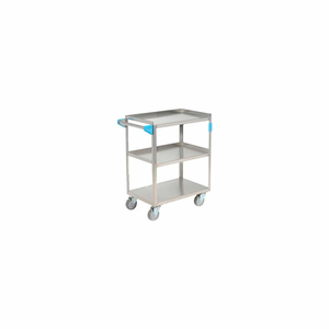 STAINLESS STEEL UTILITY TRANSPORTATION CART 300 LB. CAPACITY 24X15-1/2 by Carlisle