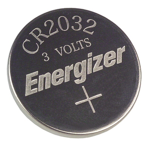 BATTERY, COIN CELL, 2032, LITHIUM, 3V, 210 MAH by Energizer