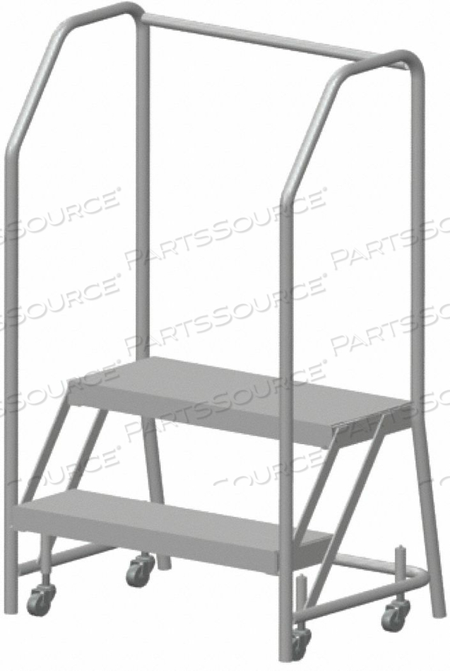 ROLLING LADDER ALUMINUM 19 IN.H by Ballymore
