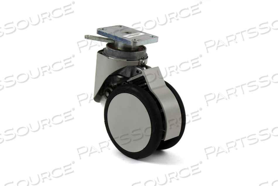 """5"""" SH ABS SWIVEL LOCK CASTER WITHOUT BRAKE"""
