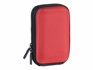 CULLMANN LAGOS COMPACT 180 - HARD CASE FOR CELL PHONE / PLAYER / CAMERA - RED by DA-Lite