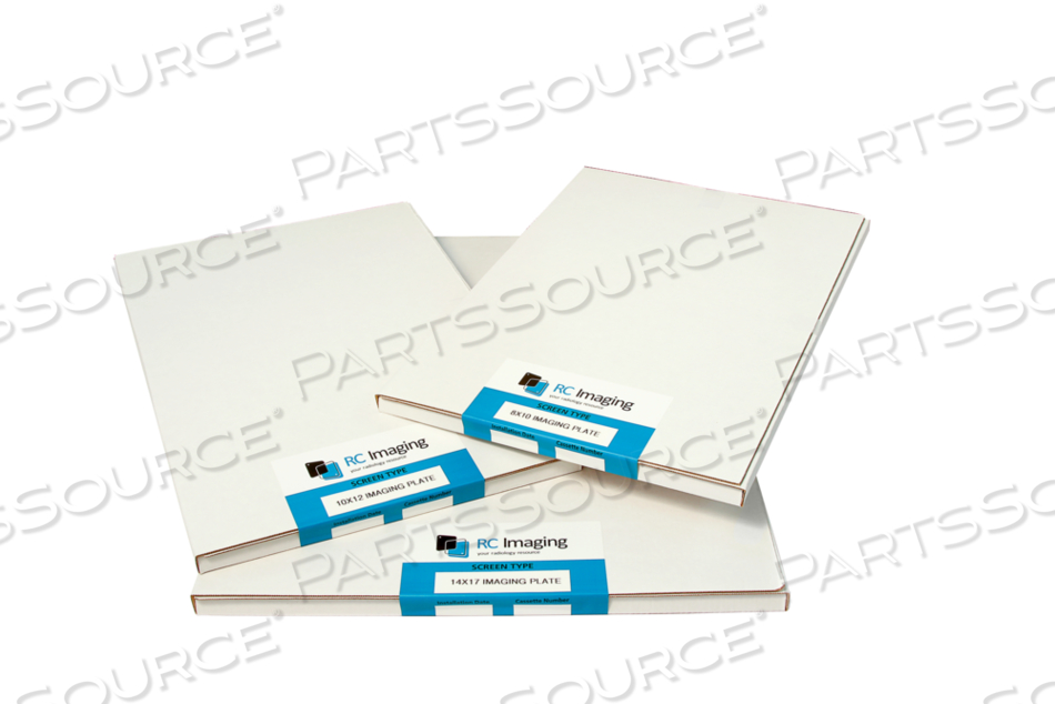 NEW 10X12 IN. DS 4000 IMAGING PLATE FOR USE IN AGFA SR CASSETTE. by RC Imaging (Formerly Rochester Cassette)