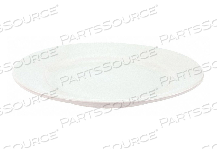 PLATE 12 IN. BRIGHT WHITE PK12 by Crestware