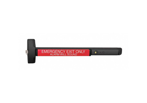 EXIT DEVICE W/BUILT-IN ALARM 6000 SERIES by Yale