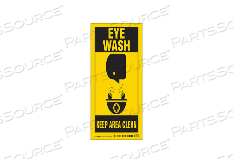 FIRST AID SIGN 8 W 18 H 0.004 THICKNESS by Condor