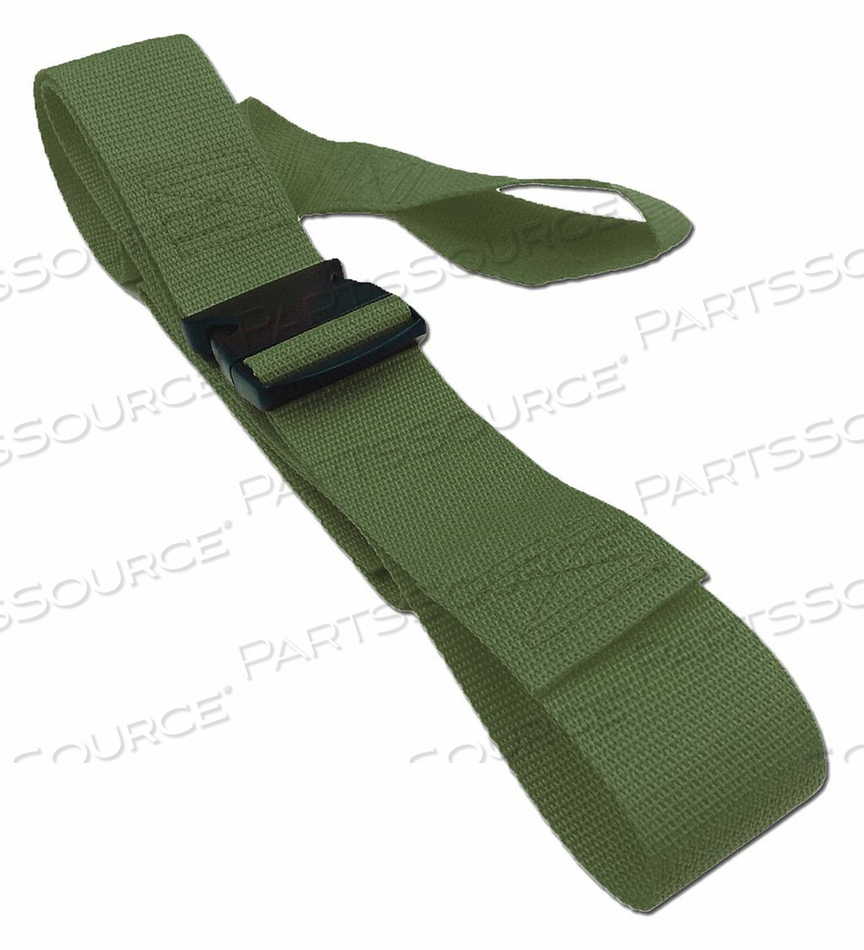 STRAP OLIVE 5 FT L by Disaster Management Systems (DMS)
