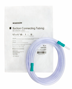 SUCTION CONNECTOR TUBING (20 PER CASE) by McKesson